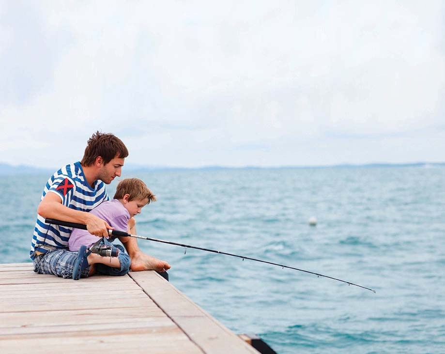 Boy-Fishing-With-Dad