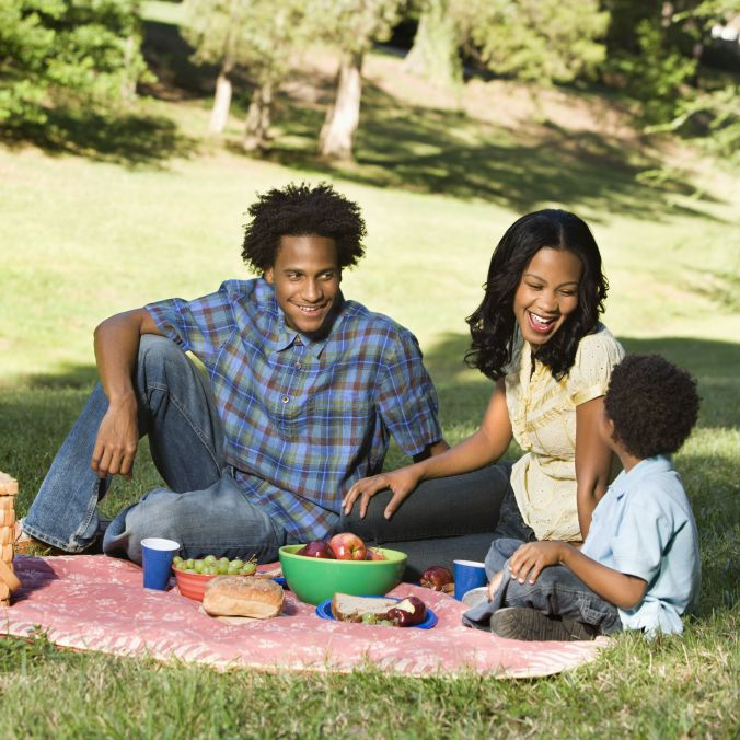 Family-On-Picnic